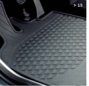 Floor mats All Weather LHD