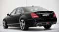 Brabus W221 Rear Add On Diffuser for Sport Package