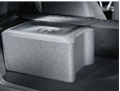 Multifunctional box for luggage compartment