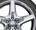 AMG 5-spoke wheel, Rear Axle, Titanium grey high-sheen