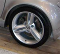 "16""Spikeline wheels set silver"