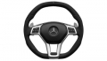 AMG Performance steering wheel, 3-spoke design, with aluminium s