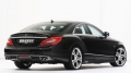 Brabus W218 Rear Add On Diffuser for Sport Package