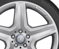 "AMG Wheel 20"" 5-spoke silver/high-sheen"