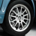 12-spoke alloy wheel, rear axle