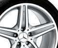 "18"" 5-spoke wheel 