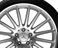 "AMG light-alloy wheel, 19"" Style V, high-sheen finish"