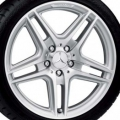 "AMG 18"" 5-spoke wheel 