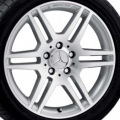 "AMG 17"" 6-spoke wheel 