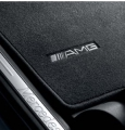 AMG floor mats. Complete set of 4 LHD models, anthracite
