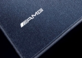 AMG floor mats. Complete set of 4 for LHD models, balck