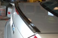 W211 sedan Carbon Fiber trunk lip