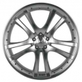 BRABUS Monoblock S Double spoke design silver polished front